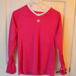 EUC Adidas Pink Active 360 Women's Shirt Medium